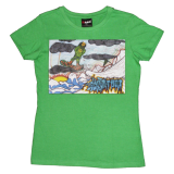 Snowboarding Green (Womens)