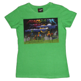 Zombies Green (Womens)